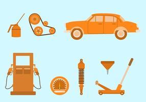 vettore del corpo auto