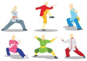 Icone vettoriali gratis Wushu