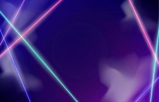 sfondo astratto luce al neon vettore