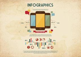 Telefono grafica vettoriale