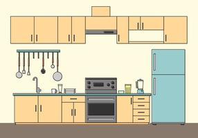 vettore gratis cocina