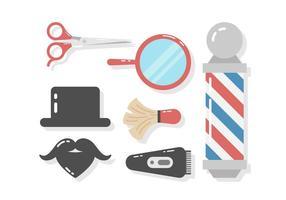 Barber Shop Vector gratuito