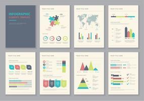 Vettori dell'illustrazione degli elementi di Infographic