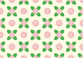 Camellia Pattern Vector gratuito