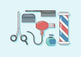 Barber Shop Vector gratuito