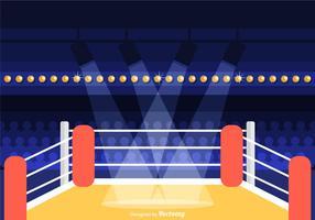 Wrestling Ring Vector Illustration