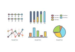 Vettore gratuito di visualizzazione dei dati