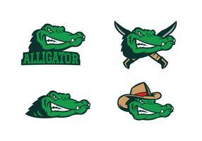 Vettore di alligatore gratis