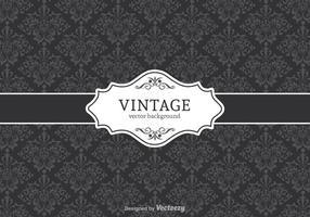 Sfondo decorativo vettoriale vintage