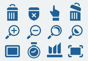 Set di icone del sito Web vettore