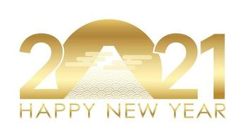 auguri di capodanno d'oro 2021