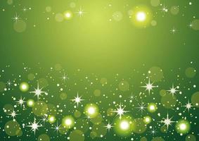 sfondo verde bokeh astratto