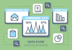 Illustrazione vettoriale di marketing digitale