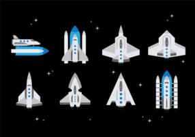 vettore libero di nave stellare