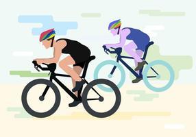 Illustrazione vettoriale bicicleta