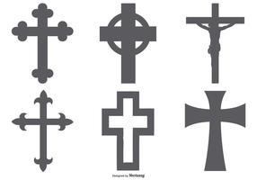 Collezione Cross Shapes vettore