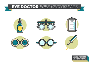 pacchetto di vettore dell'occhio medico