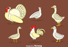 Insieme di vettore dei polli