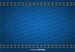 Struttura astratta di vettore di denim blu