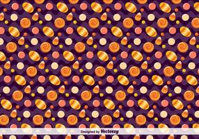 Vector Candy Pattern per Halloween
