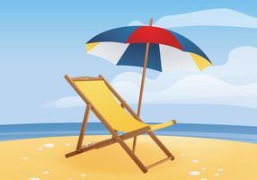 Deck Chair gratuito vettore