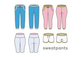 Vettori di pantaloni sportivi
