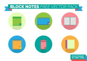 Confezione di blocchi vettoriali gratis