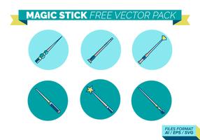 pacchetto di vettore libero del bastone magico