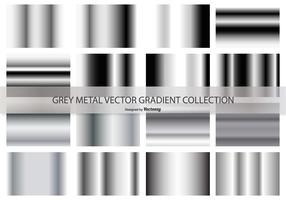 Collezione grigia di gradiente vettoriale