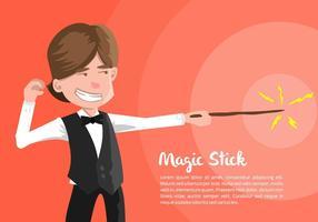 Illustrazione del mago