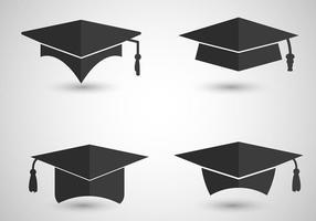 Vettori del cappuccio di graduazione