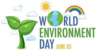 icona della giornata mondiale dell'ambiente