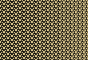 motivo geometrico di colore dorato