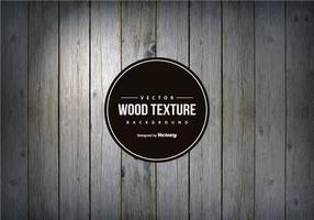 Fondo di struttura di legno grigio scuro vettore