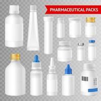 set di pacchetti farmaceutici