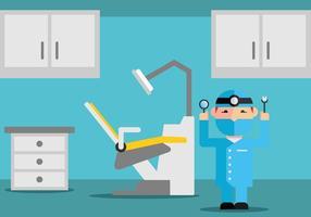 Vettore dell'ufficio dentale