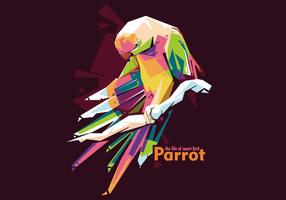 pappagallo wpap vettoriale