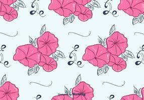 Vettore rosa del modello della petunia