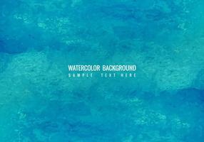 Sfondo acquerello blu vettoriale gratuito