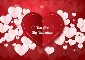vettore di carta di San Valentino