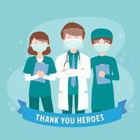 grazie personale sanitario vettore