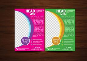 Vector Brochure Flyer design Modello di layout in formato A4