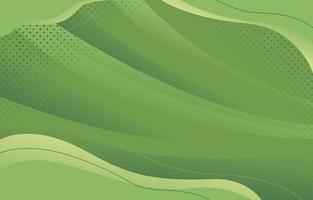 sfondo bianco e nero moderno onda verde vettore