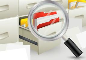 Ricerca file vettoriale