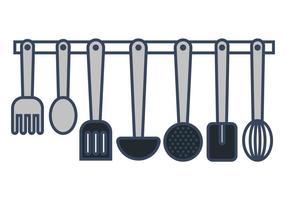 Vettori di utensili Cocina