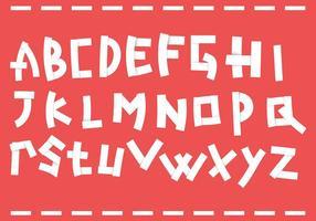 Pacchetto di lettera di carta vettoriale