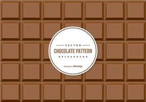 Fondo del modello di cioccolato vettore