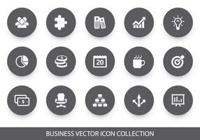 Collezione di icone vettoriali d'affari