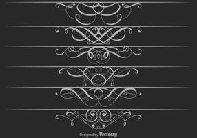 Vettore di divisori ornamentali