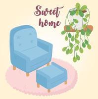 dolce casa interni vettore